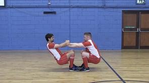 Toe-Toe squat