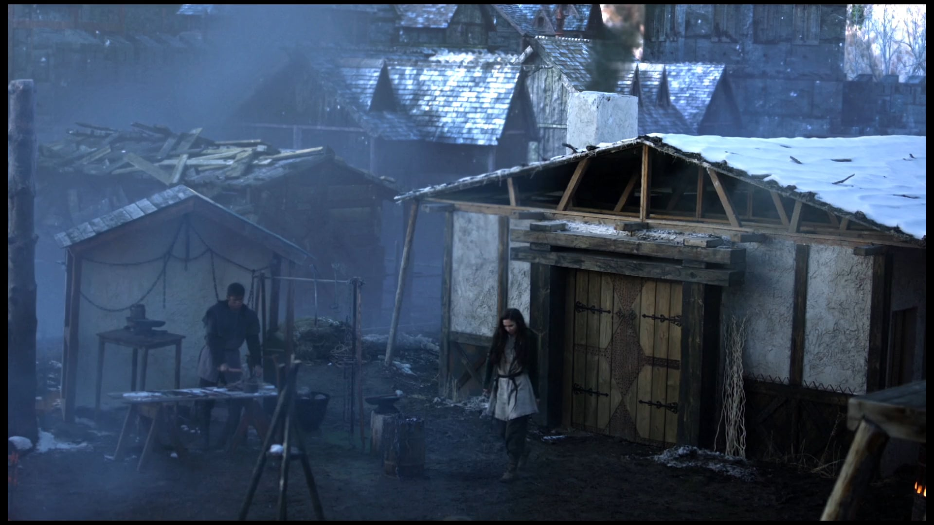 """Greenscreens and Set Extensions from The CW's """"The Outpost"""""""