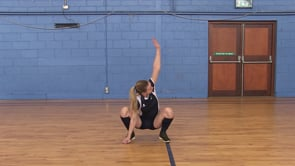 Squat Stand with Twist