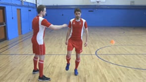 Single Leg Balance with push to unbalance