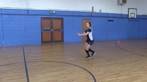 Forward Triple Hop and Stick