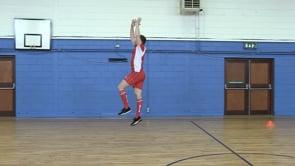 Jogging High Ball Jumps