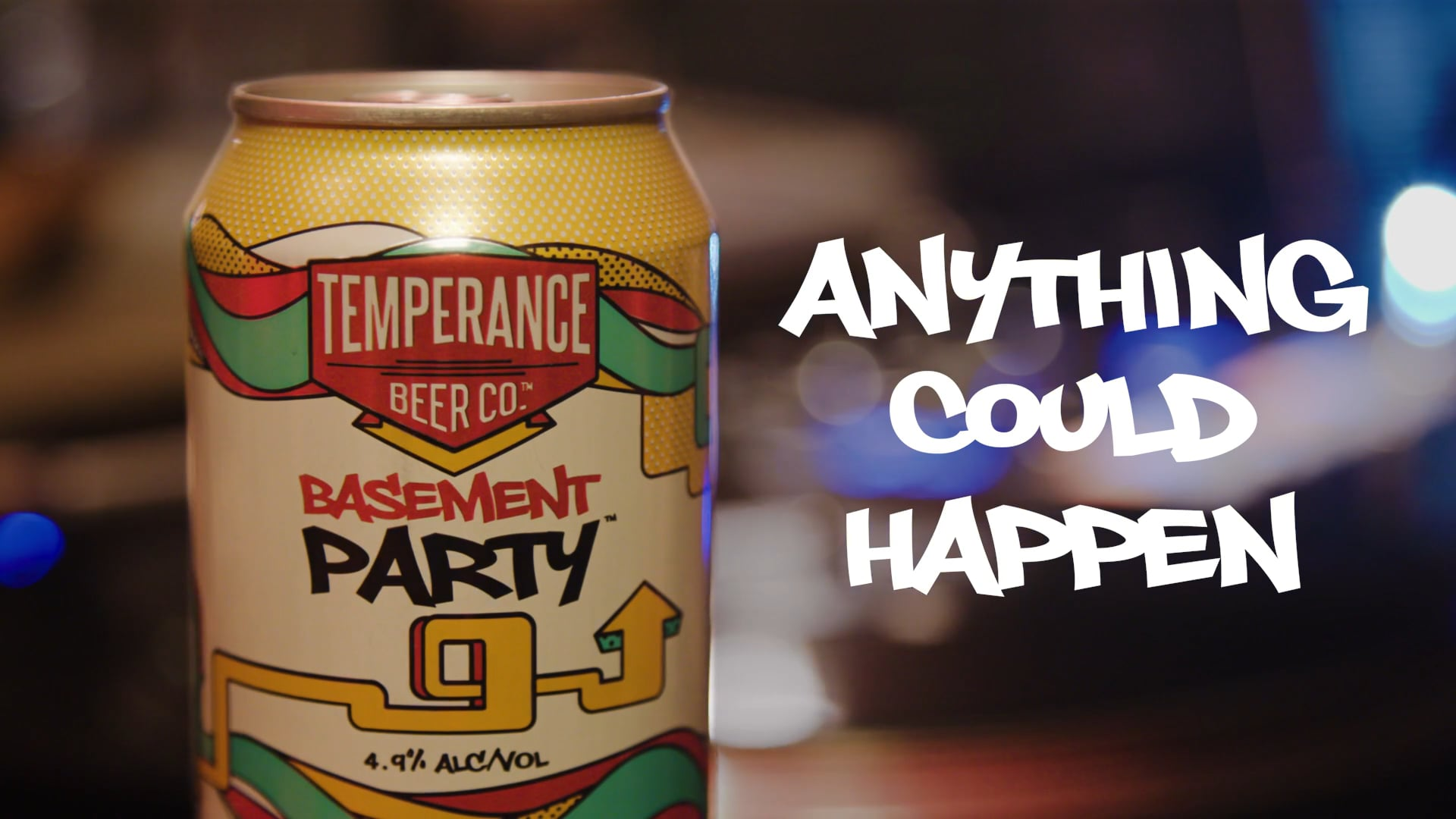 Temperance Beer Co.- Basement Party