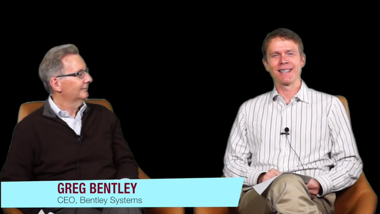 Interview with Greg Bentley, CEO, Bentley Systems: The Continuing Evolution of Engineering Software