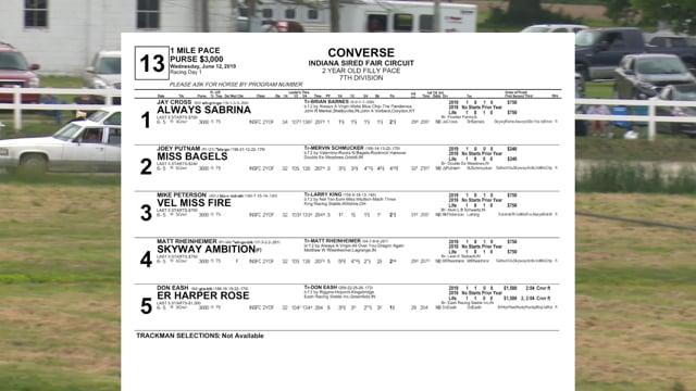 06-12-2019 Race 13 Converse
