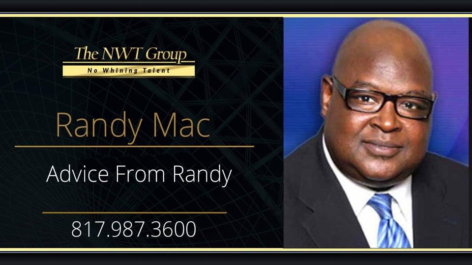 Advice From Randy