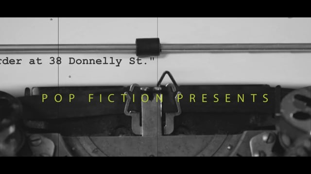 Book Trailer - 'Murder at 38 Donnelly St.' by Sheldon Spear