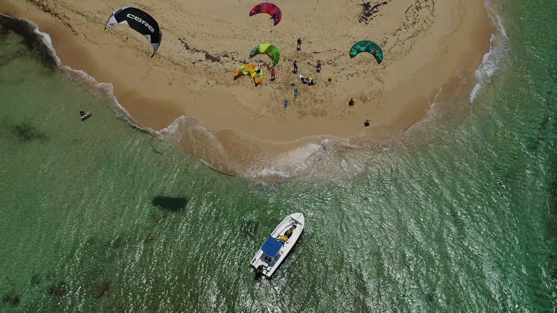 Kite Buen Hombre 7 islands trip, Dominican Republic, Caribbean, Cabarete trips