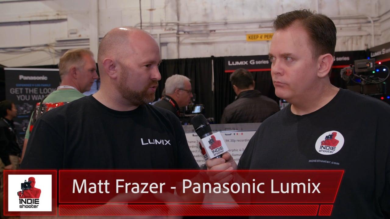 Cine Gear Expo 2019: The New Panasonic Lumix S1H Full Frame Camera