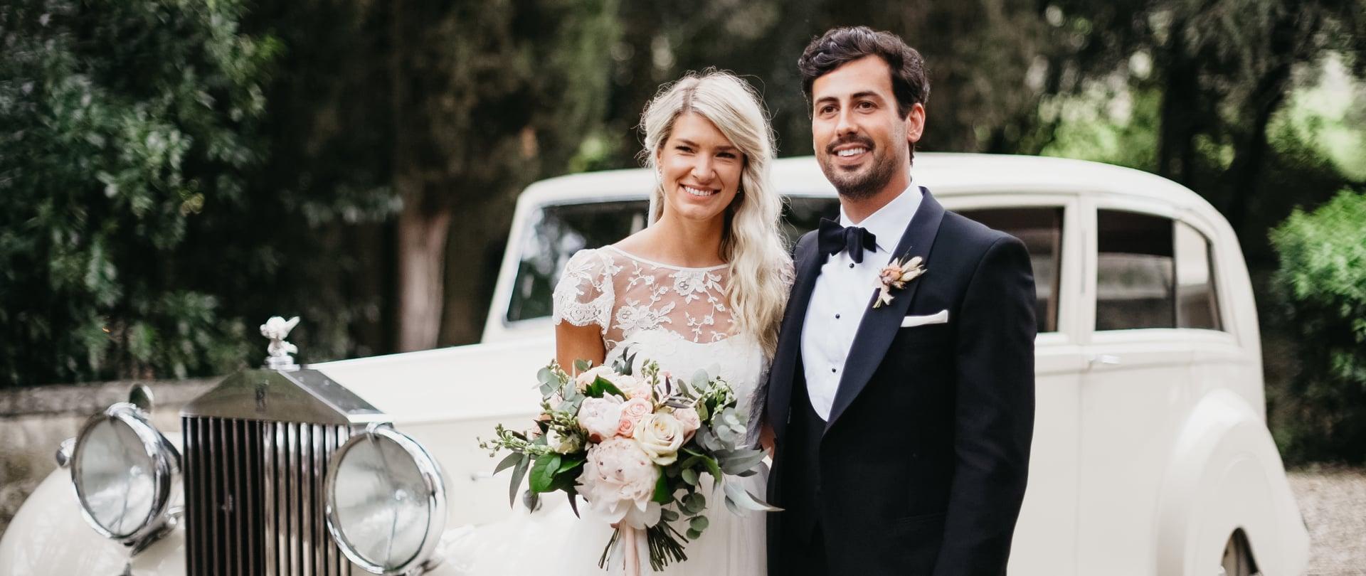 Elise & Nathan Wedding Video Filmed at Tuscany, Italy
