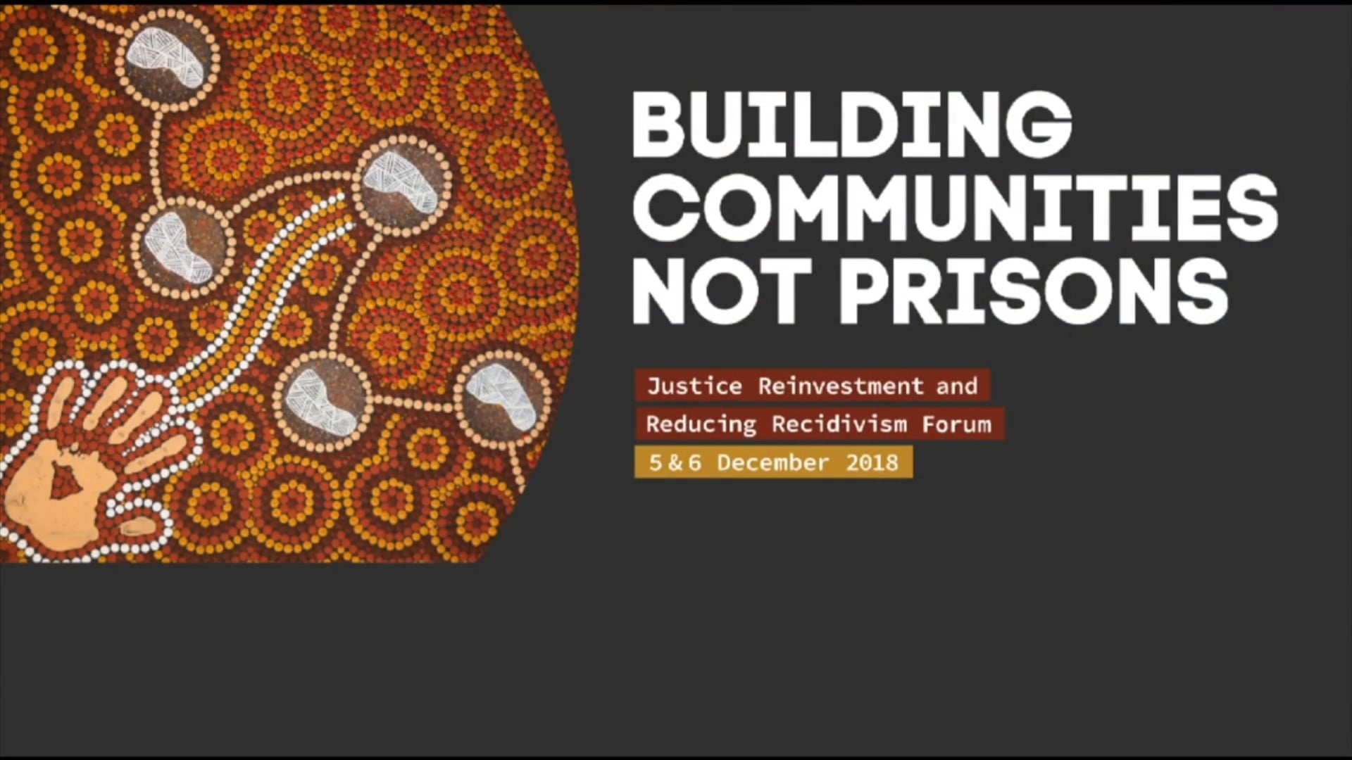 Building Communities Not Prisons - Event Highlight