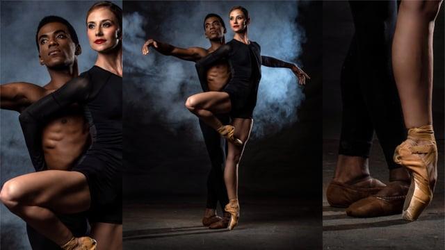 Behind the Scenes - Joburg Ballet UNBOUND shoot 02