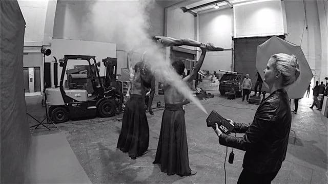 Behind the Scenes - Joburg Ballet UNBOUND shoot 03