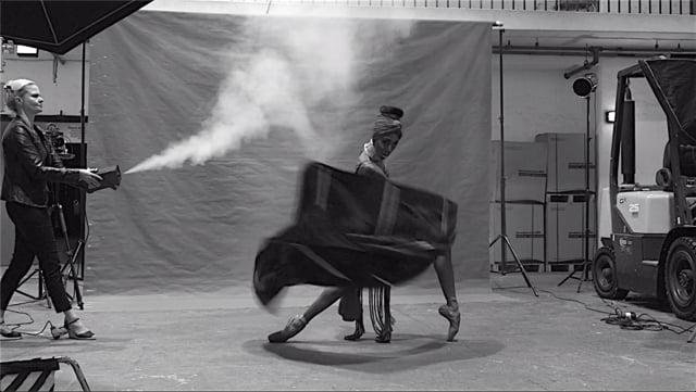 Behind the Scenes - Joburg Ballet UNBOUND shoot 04