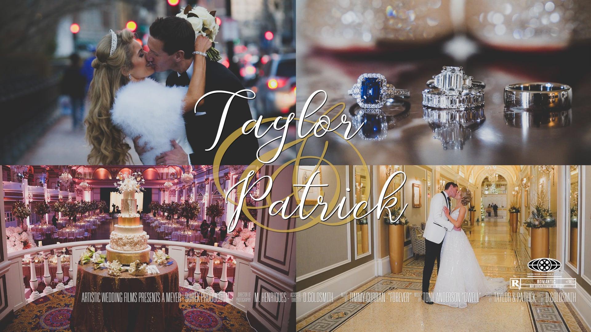 Taylor & Patrick's Feature Film // Fairmont Copley Wedding // Boston Wedding