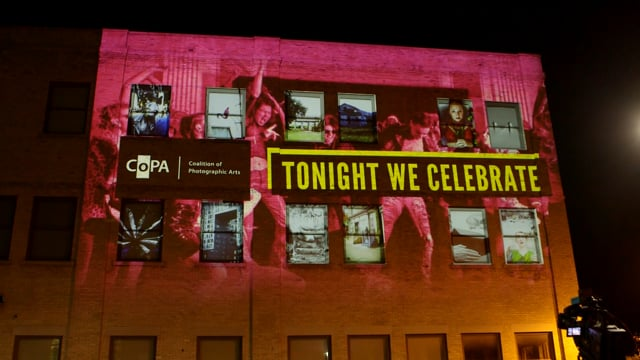 Projection Mapping on Building | COPA 'Arty Bollocks Ball', COPA