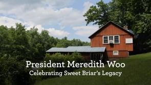 President Meredith Woo: Celebrating Sweet Briar's Legacy