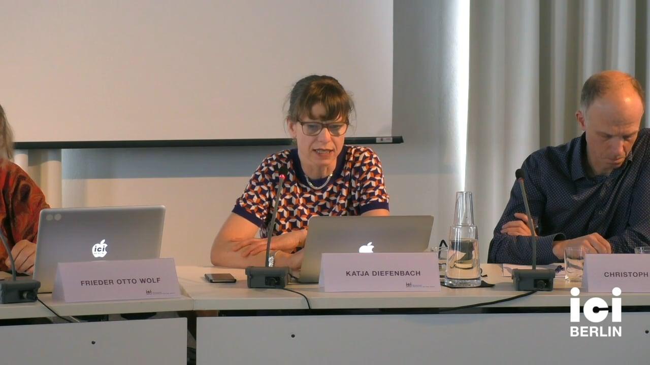 Talk by Katja Diefenbach