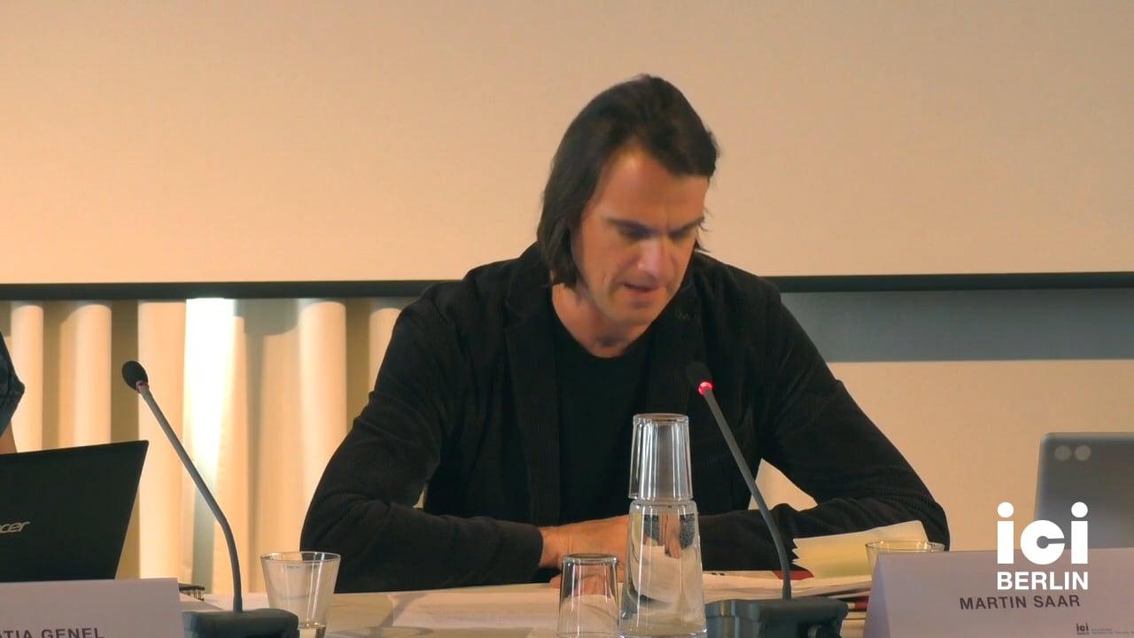 Talk by Martin Saar