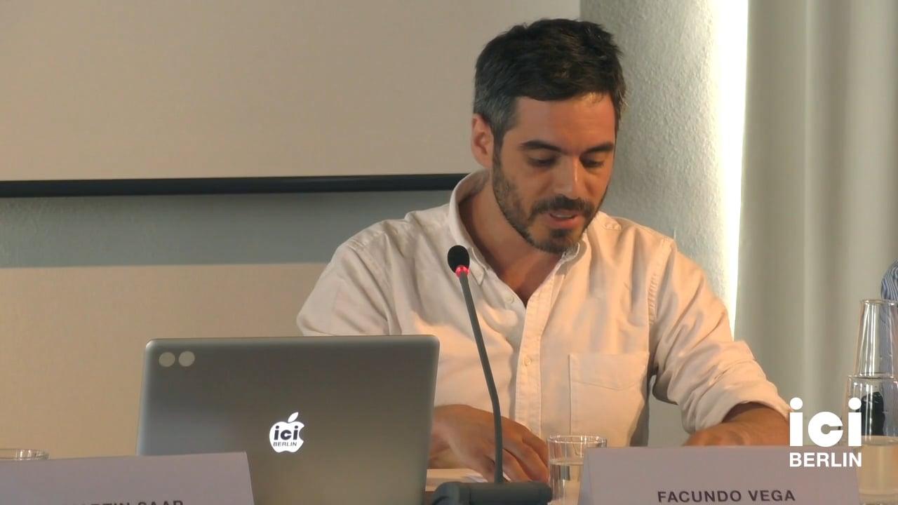 Talk by Facundo Vega