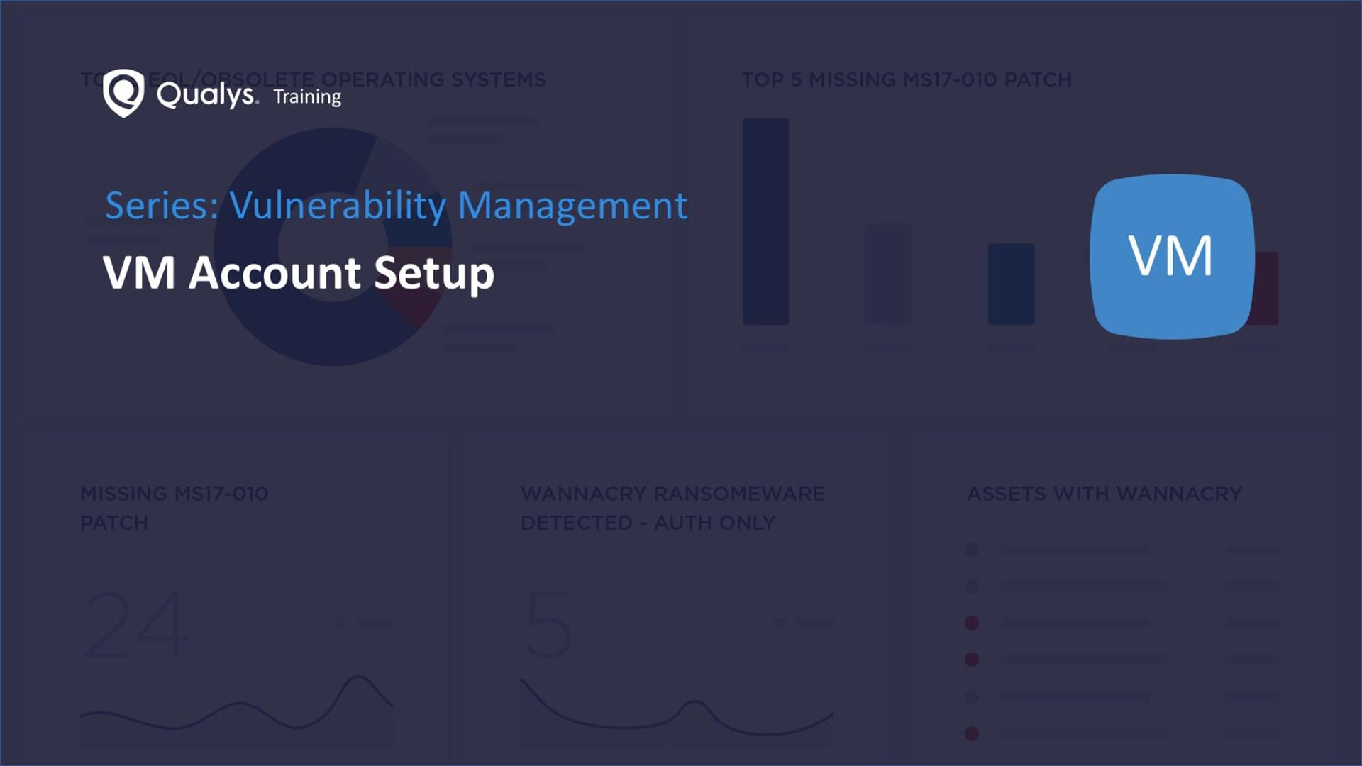 VM Account Setup