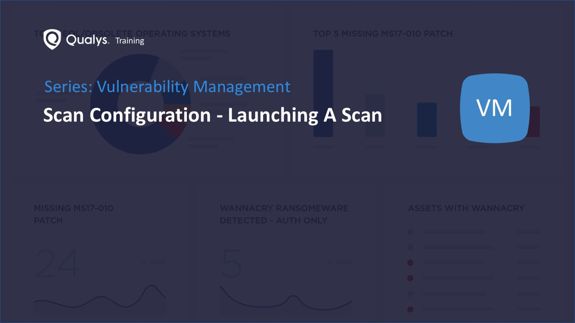 Scan Configuration - Launching A Scan