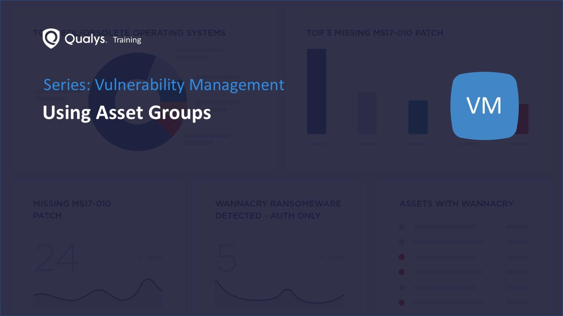 Using Asset Groups