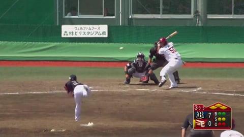 【ファーム】バファローズ・本田 2アウト満塁のピンチを三振で切り抜ける!! 2019/6/23 E-B(ファーム)