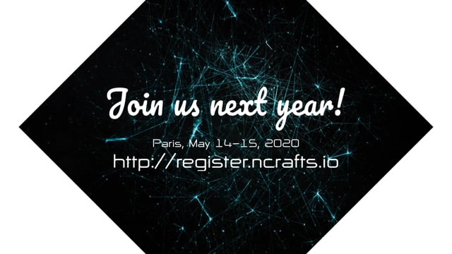 Team NewCrafts - 2019 Conference Closing