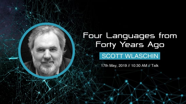 Scott Wlaschin - Four Languages from Forty Years Ago