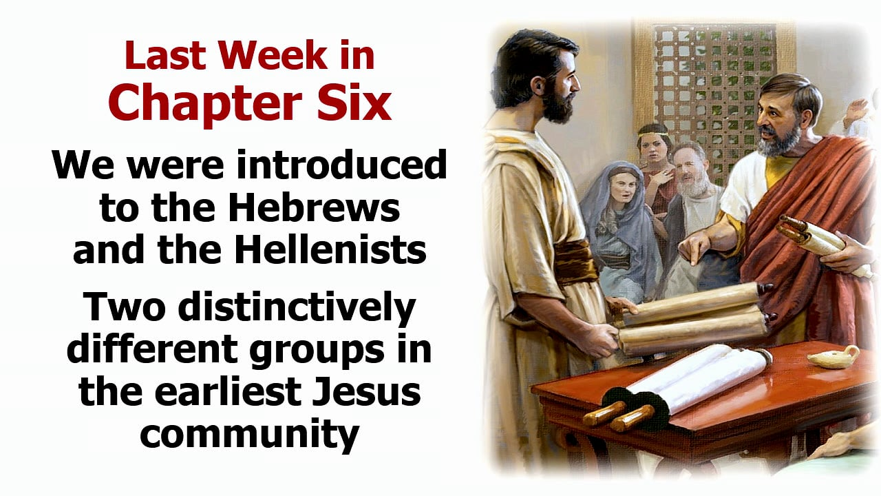 Acts 7: Stephen