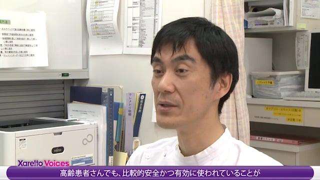 井上 耕一先生:高齢NVAF患者における抗凝固療法の意義と注意点