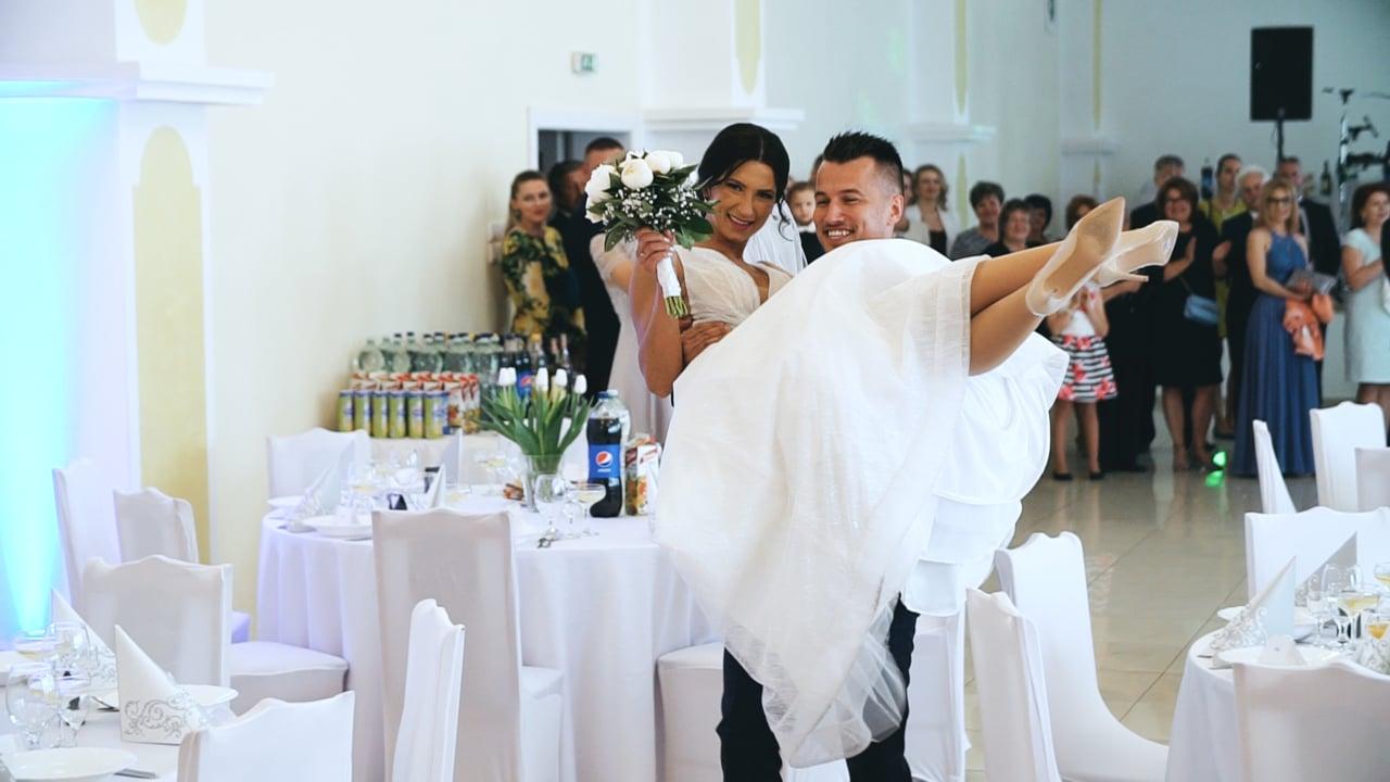 Evka a Tomáš svadobný videoklip