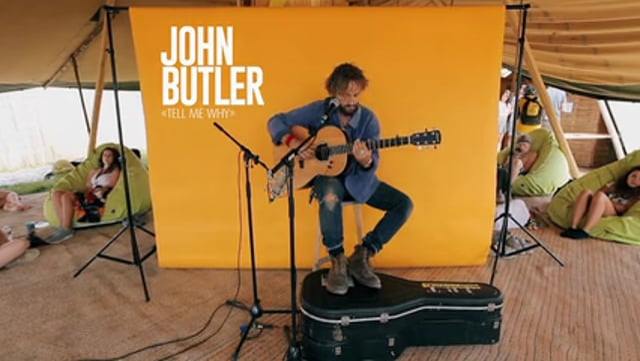 """John Butler """"Tell me why"""""""