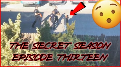 Juice Witnessed A Police Stand-Off! This Guy Almost Got SHOT! - (The Secret Season Ep.13)