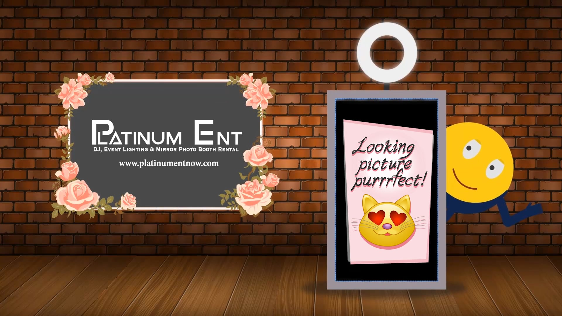 Mirror Photo Booth Demo Platinum Ent