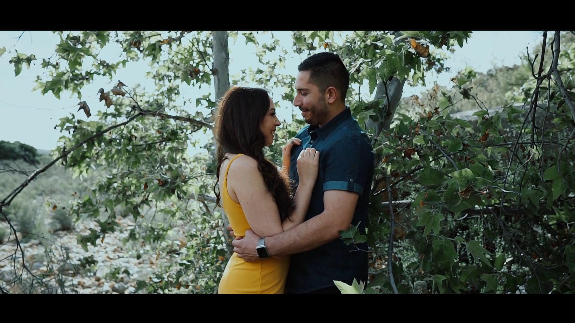 Omar y Casandra Previo