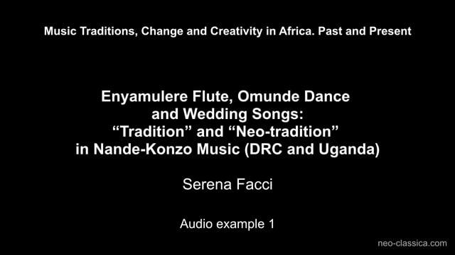 Facci – Audio example 1
