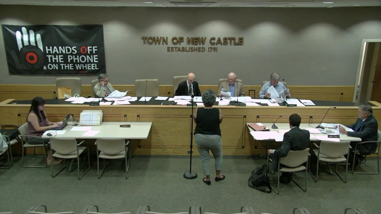 Town of New Castle Zoning Board Meeting 6/26/19