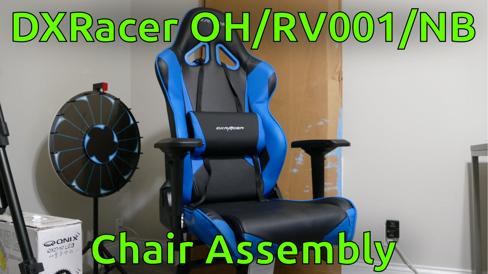 DXRacer OH/RV001/NB Chair Assembly