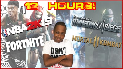 12 Hour Stream! A Ton Of Games!