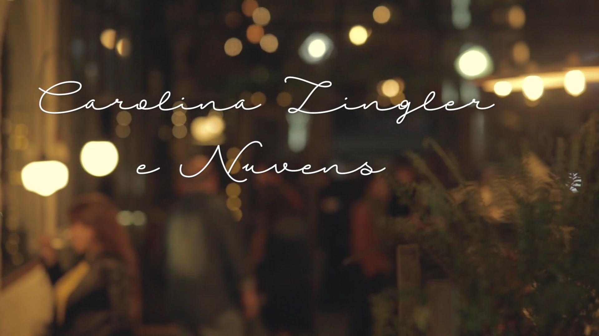 Carolina Zingler & Nuvens no show de lançamento do disco Mantas da Mata