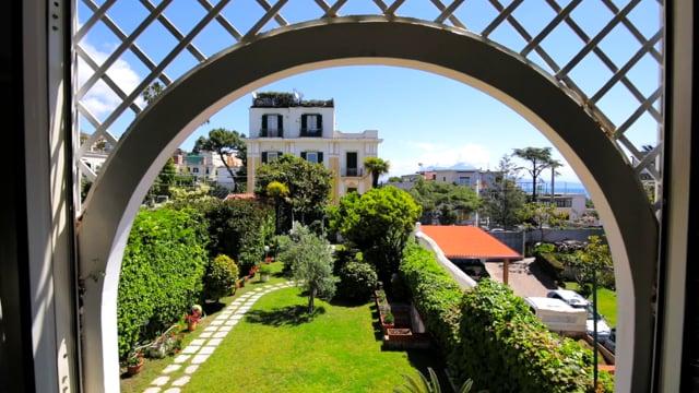 Wonderful villa in the charming Posillipo, Naples