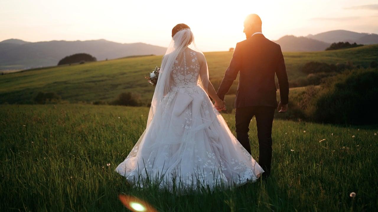 Karin a Lukáš svadobný videoklip