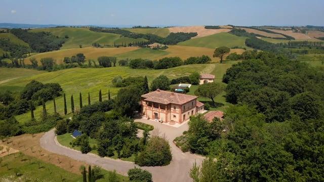 Lovely villa with pool near Buonconvento, Siena