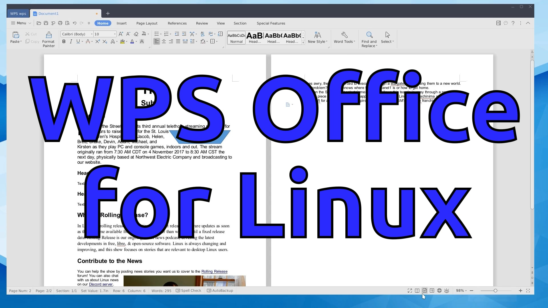 WPS Office 2019 for Linux