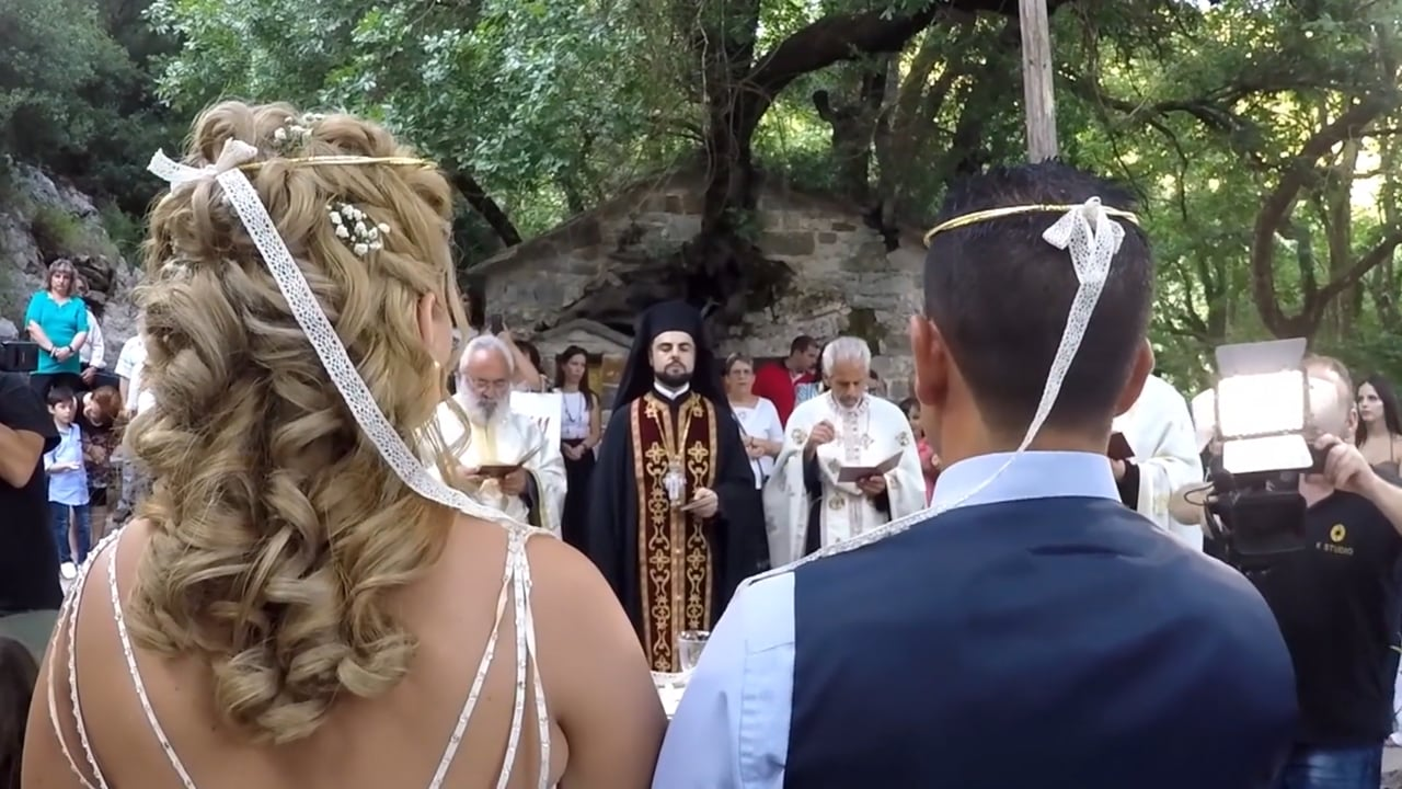 wedding and baptism day MENIS & KONSTANTINA