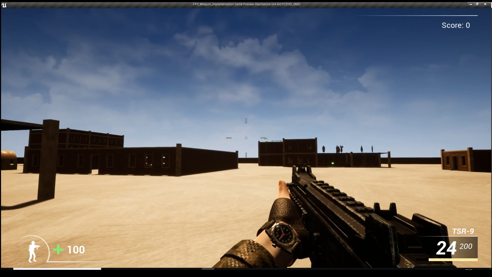 FPS Weapon [ Unreal & Wwise ]