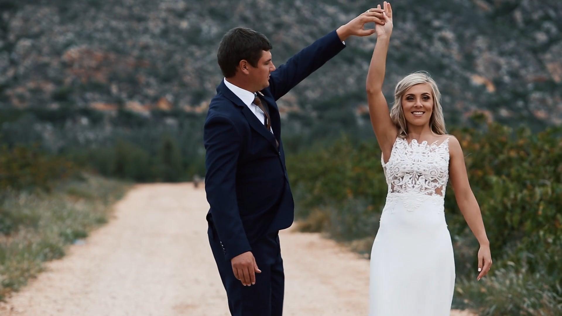 Emelius and Lizé wedding preview, Du Von Wine Estate, Robertson - 13 April 2019