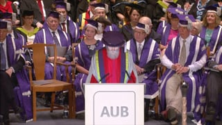 AUB  - Mike Davies Honorary Fellowship Speech